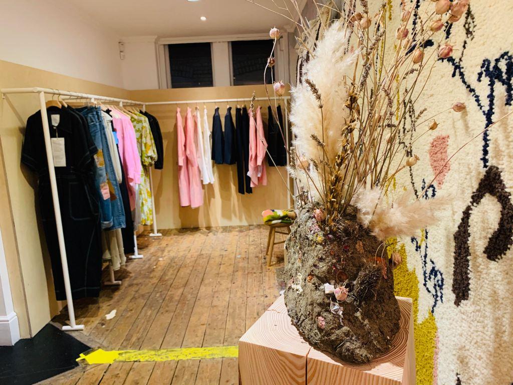 The Ssōne store in London's Marylebone