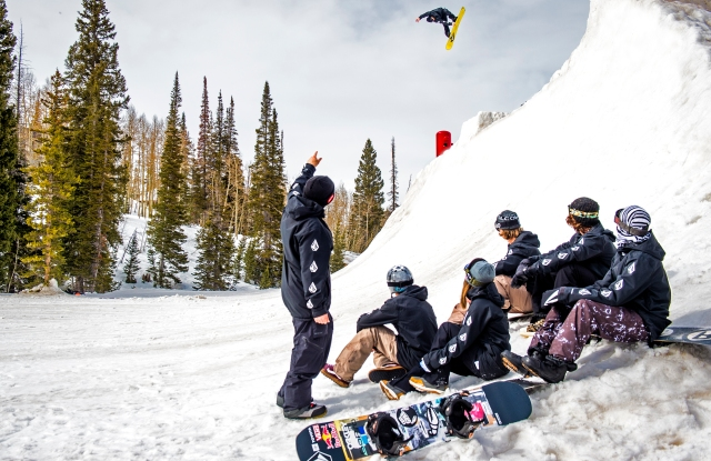 Volcom is the apparel sponsor of the U.S. Snowboarding team.