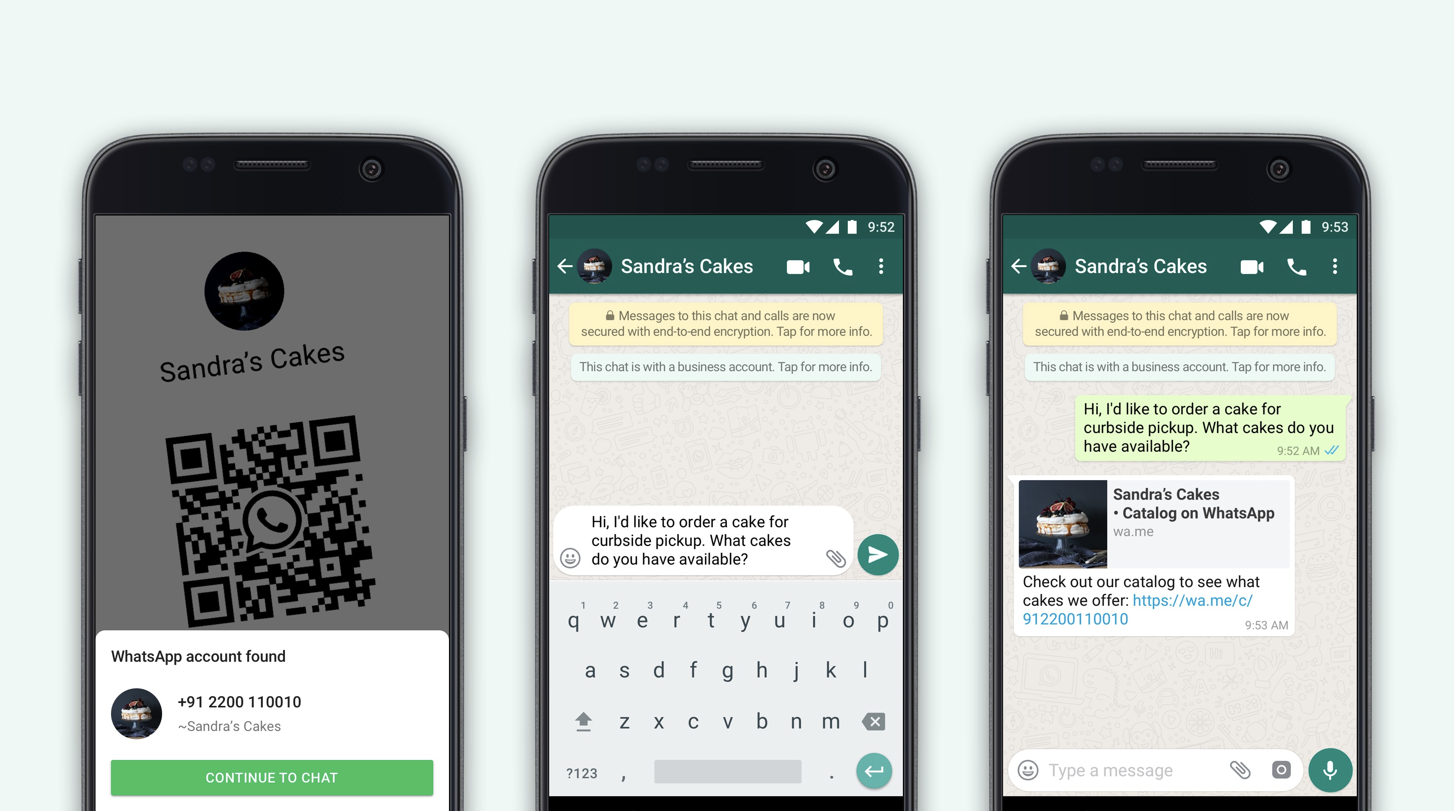 WhatsApp now lets businesses connect with customers using QR codes.