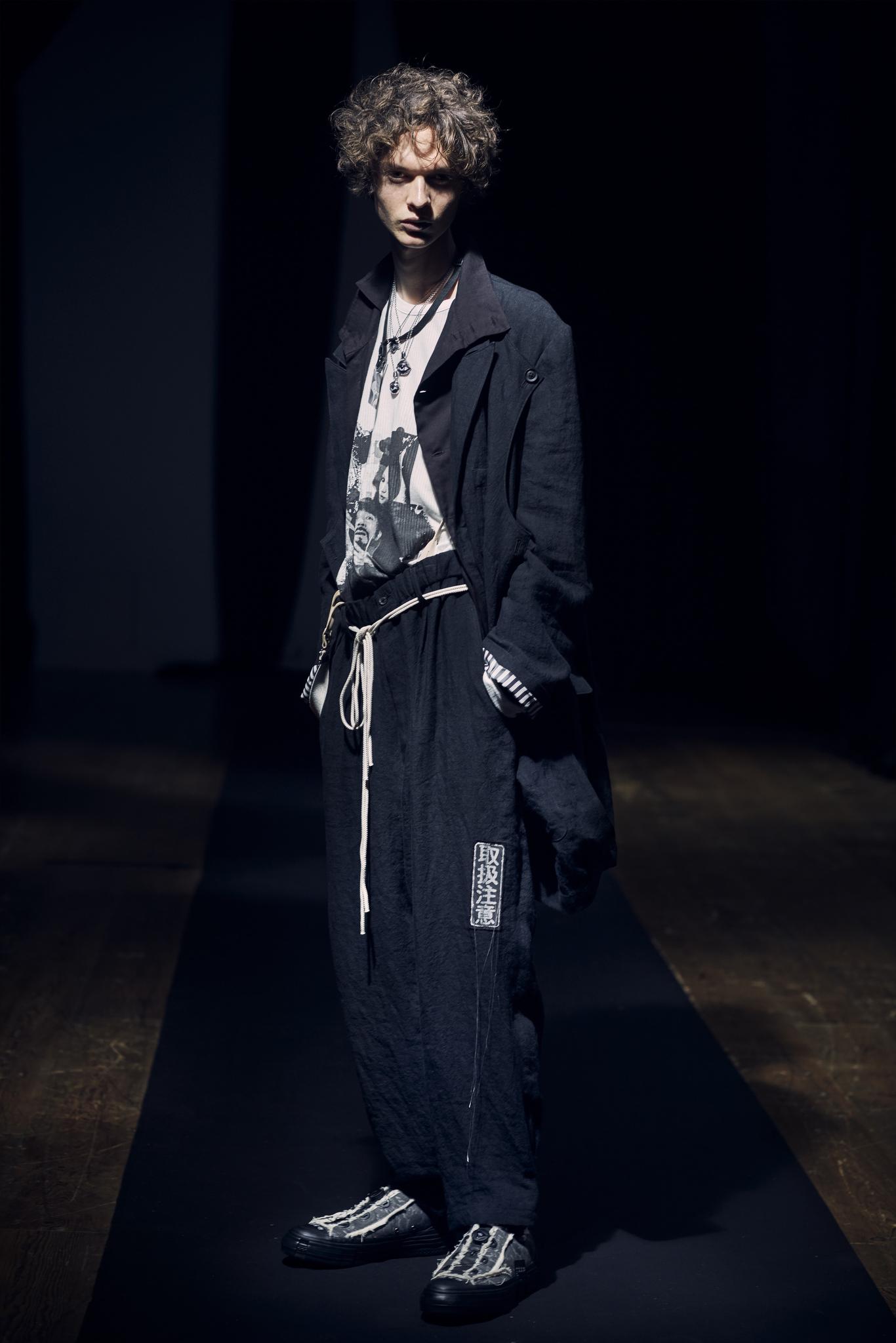 Yohji Yamamoto Mens Spring 2021