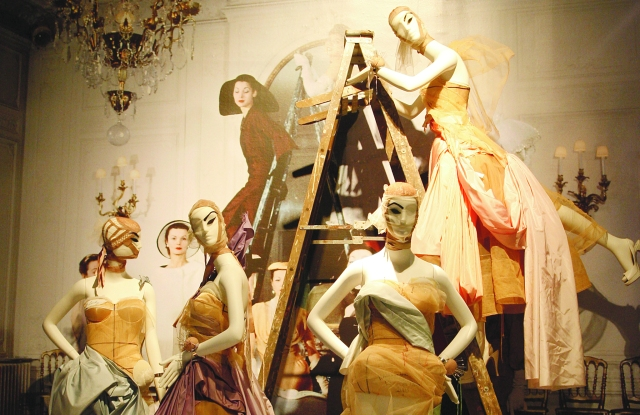 """A past exhibit at the Costume Institute at the Metropolitan Museum of Art in Manhattan, New York, """"The Model as Muse: Embodying Fashion."""""""