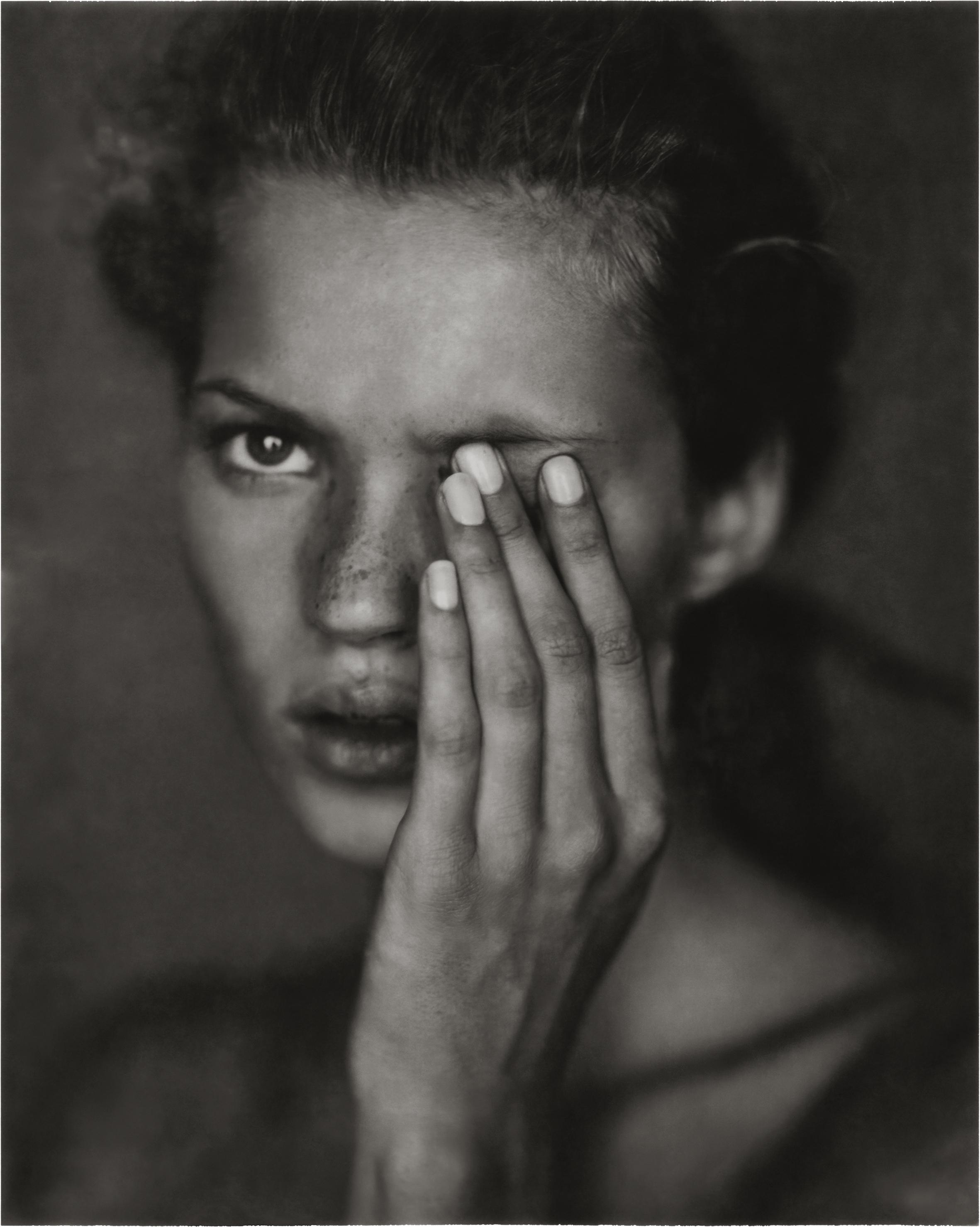 Kate Moss for Harper's Bazaar, New York 1993.