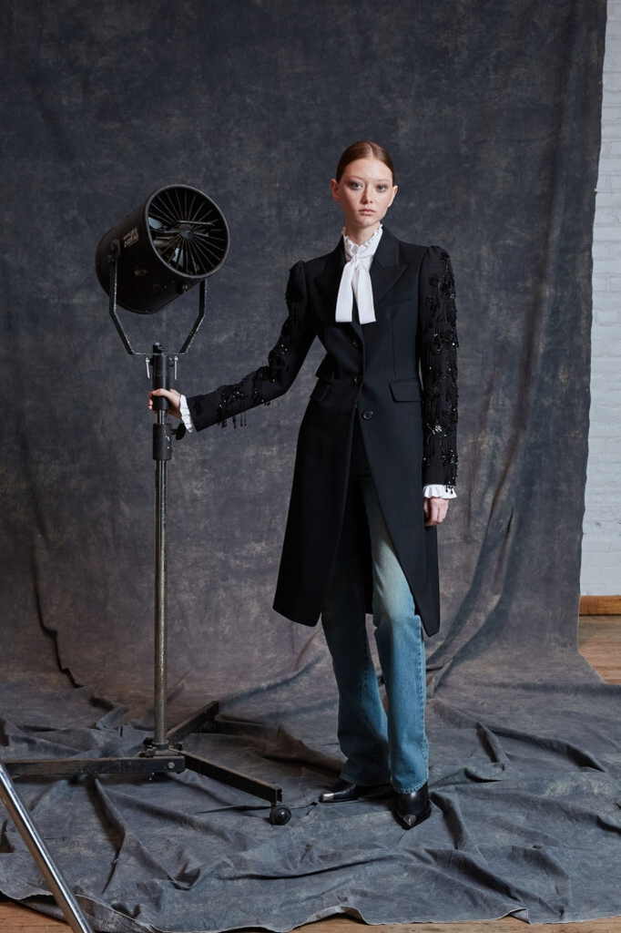 While Zooming with Neiman's clients, Kors recalled that, after his first trunk show for the store in 1982, he took a side trip to see an exhibit of Richard Avedon's American West photos. Nearly four decades later, that region inspired his pre-fall collection, and his look-book set referenced the photographer.