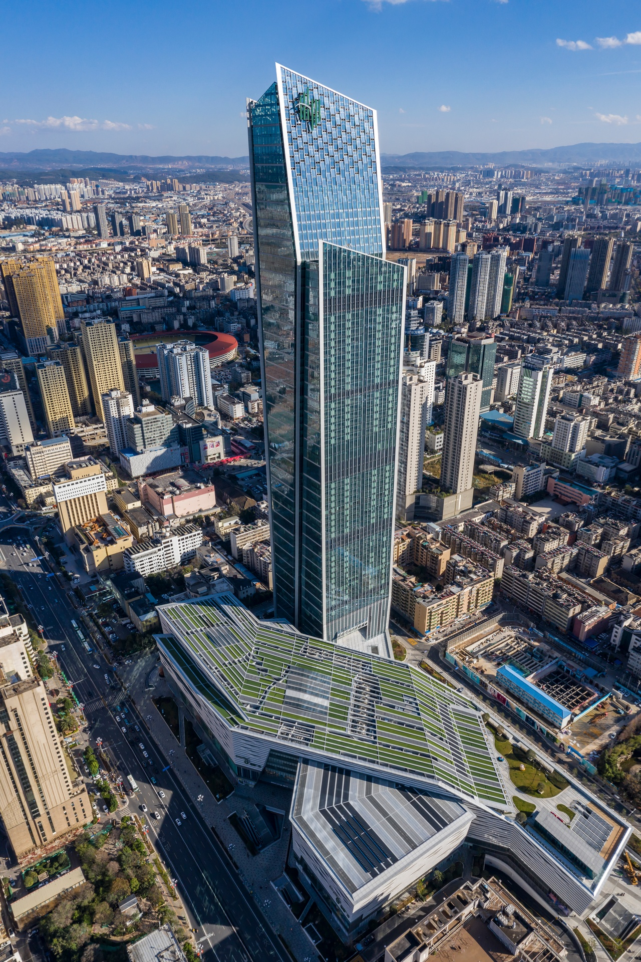 Spring City 66 in Kunming, developed by Hang Lung Properties
