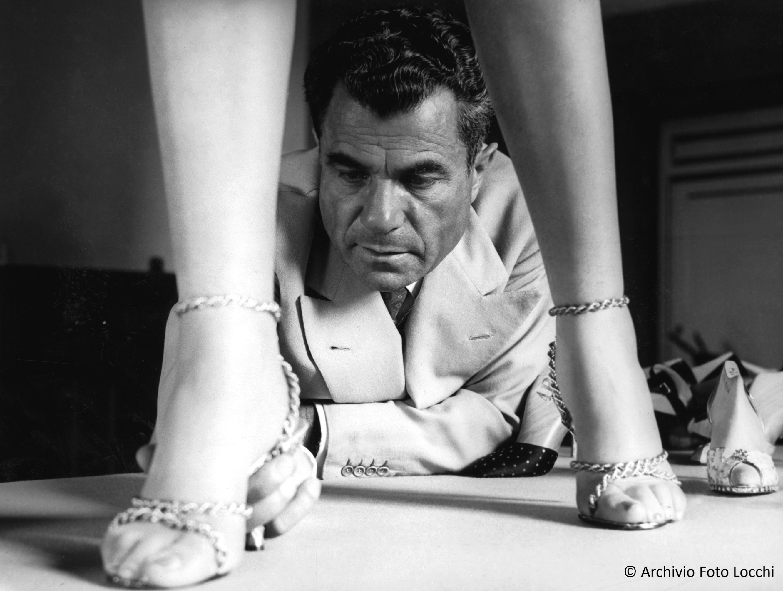 An archival image of Salvatore Ferragamo.