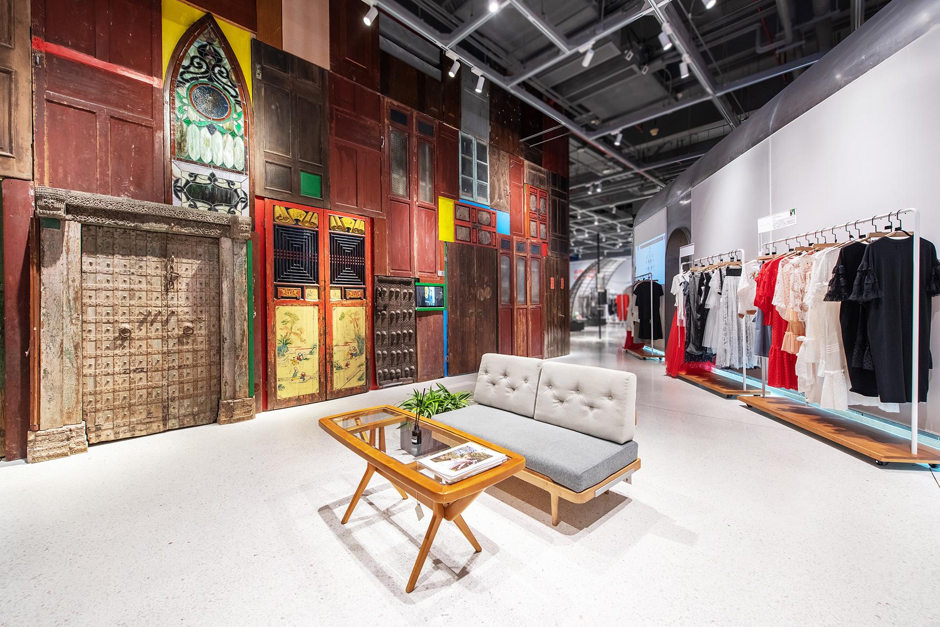 The Fashion Door flagship store in K11 Guangzhou