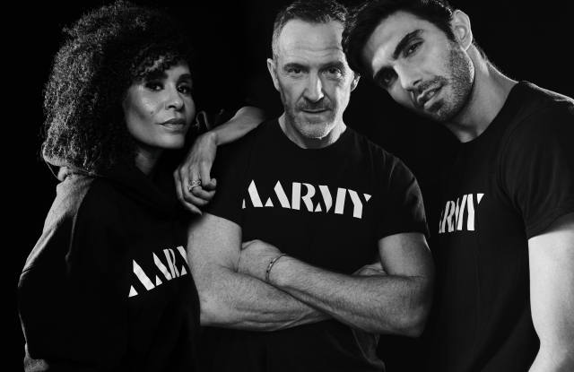 Aarmy founders Angela Manuel-Davis, Trey Laird and Akin Akman.