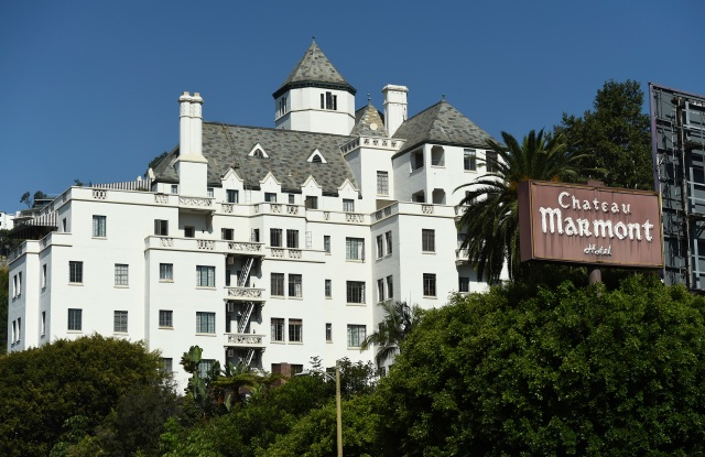 The Chateau Marmont Hotel in July 2020.