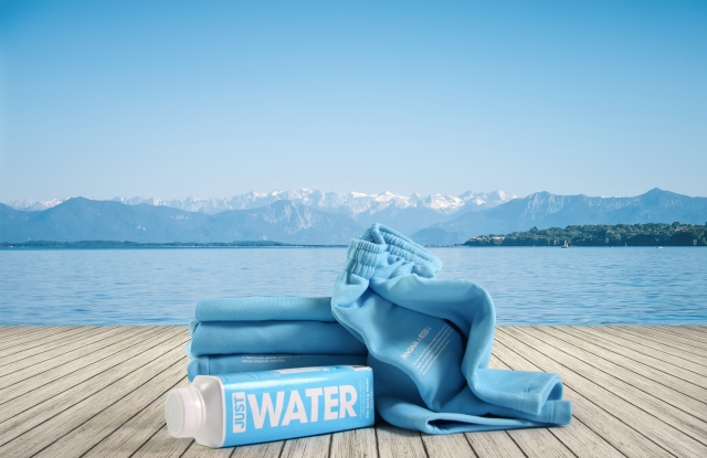 Pangaia x Just Water capsule collection