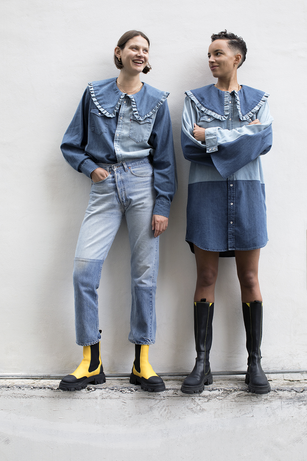 The Ganni x Levi's rental-only capsule
