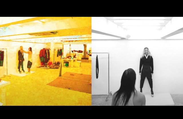 Rick Owens Men's Spring 2021 for Digital Fashion Week.