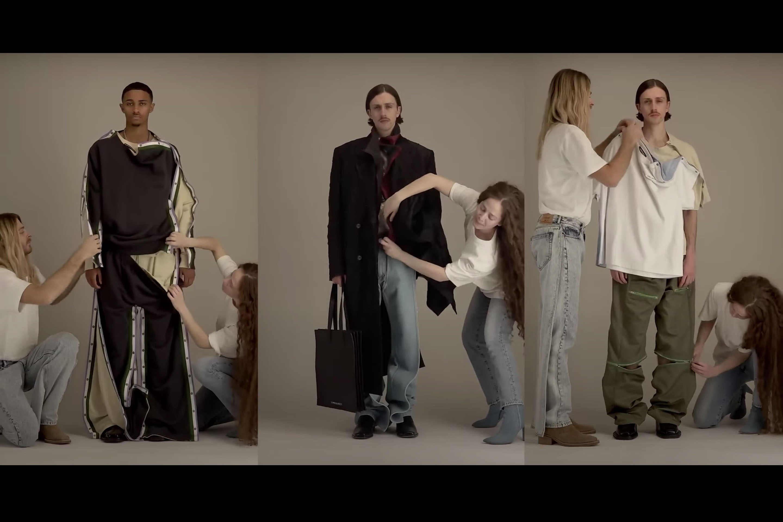 Y/Project Men's Spring 2021 for Digital Fashion Week.