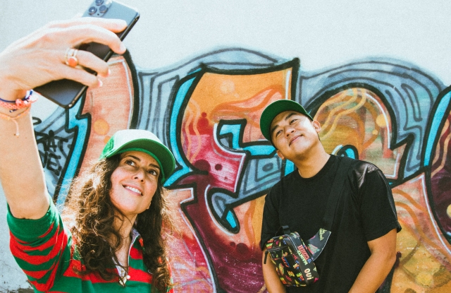 Clare Vivier and Bobby Kim of The Hundreds launch their first collaboration.