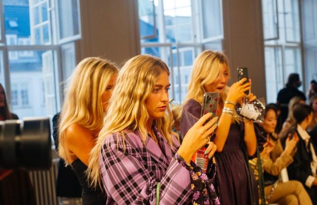 The scene at Copenhagen Fashion Week.