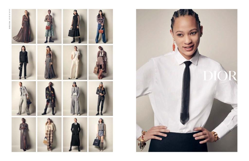 The Dior fall campaign.