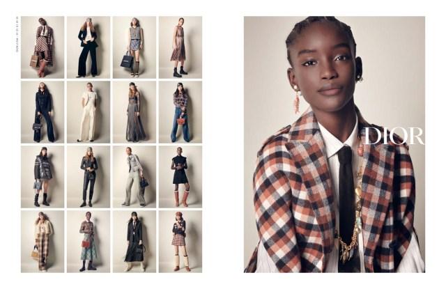 The Dior fall ad campaign.