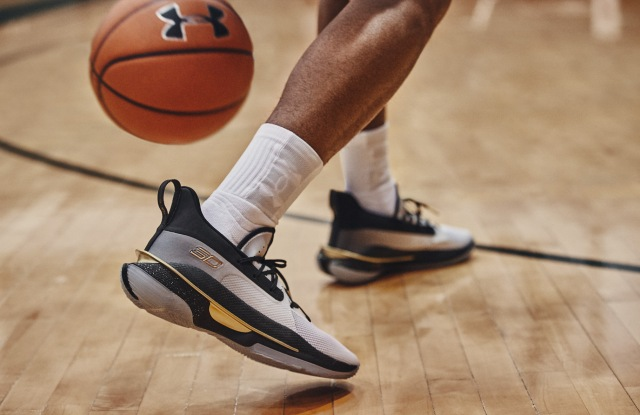 The Curry 7 sneaker from Under Armour.