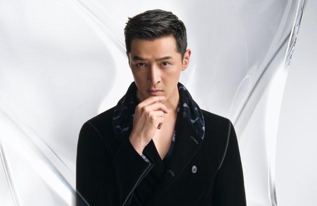 Hu Ge appears in Giorgio Armani's fall 2020 campaign.