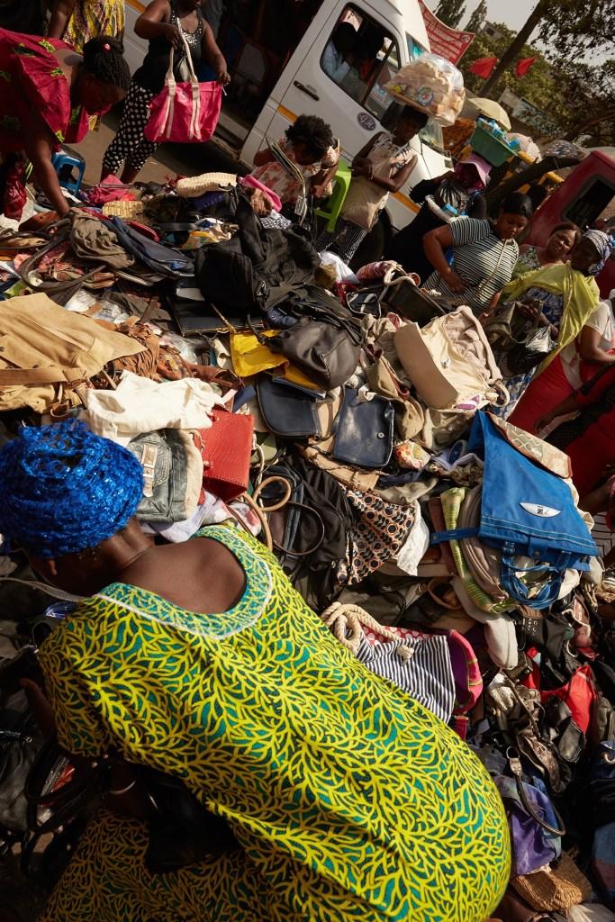 Ghana's Kantamanto second-hand clothing market