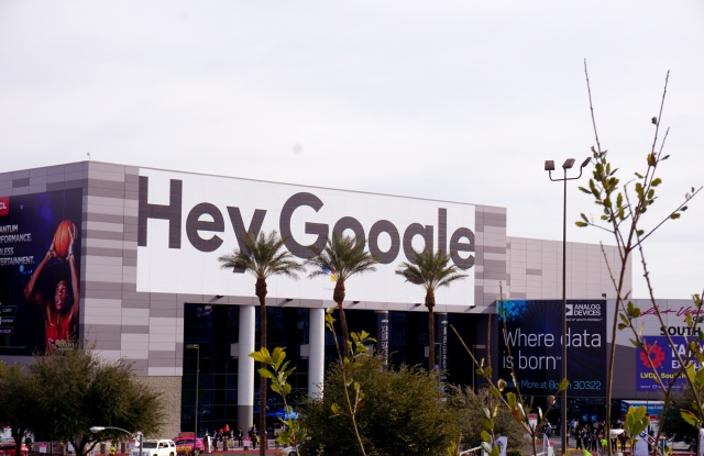 Google loomed large at CES 2019.
