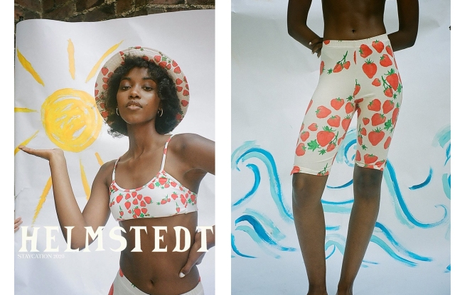 Looks from Helmstedt's Staycation collection.