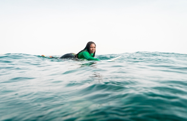 Hurley is partnering with Black Girls Surf to help surfers of color achieve their career dreams of competing professionally.