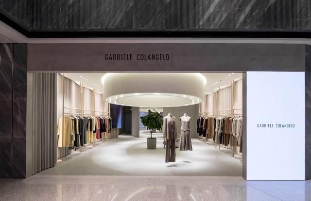 The Gabriele Colangelo flagship boutique.
