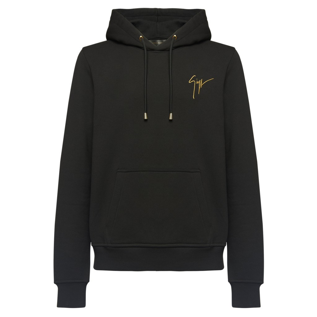 """A hoodie from Giuseppe Zanotti's """"Living Room"""" capsule collection"""