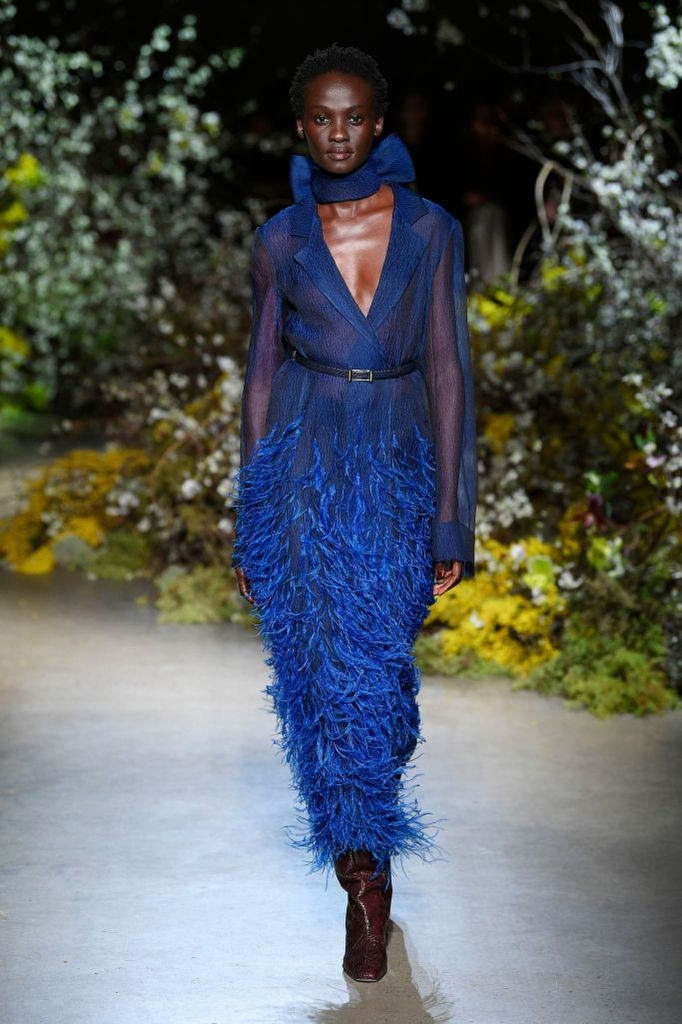 """Wu still believes in """"the fantasy and dream"""" of dressing up. Here, a fall look from Jason Wu Collection."""