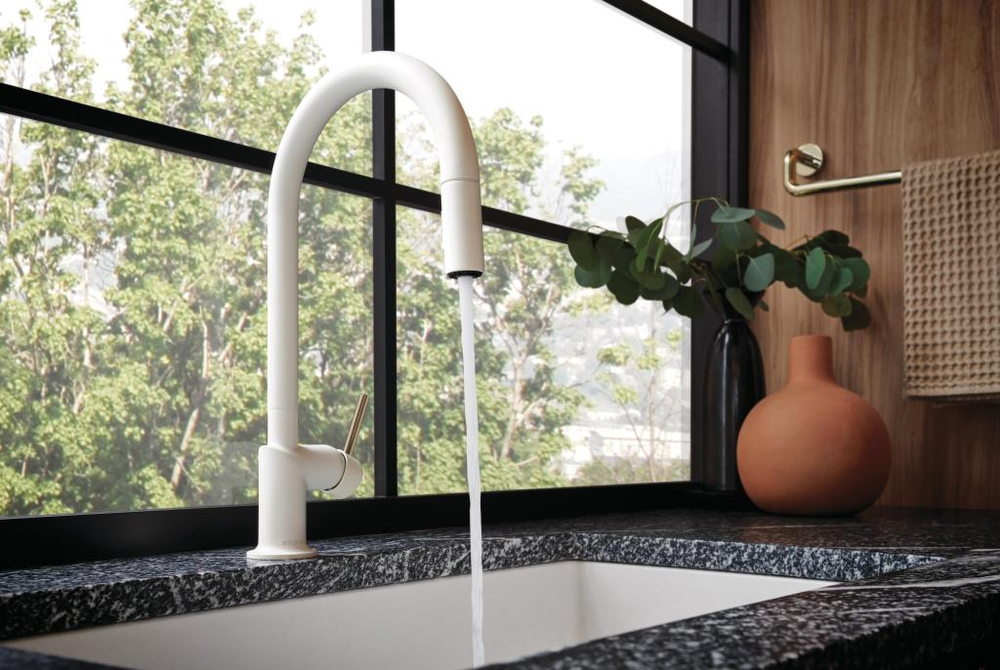 The Jason Wu for Brizo Kitchen Collection debuted earlier this month.