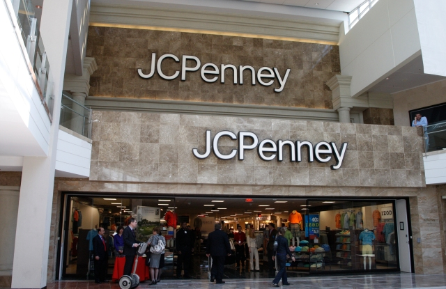 JC Penney's Store & Execs