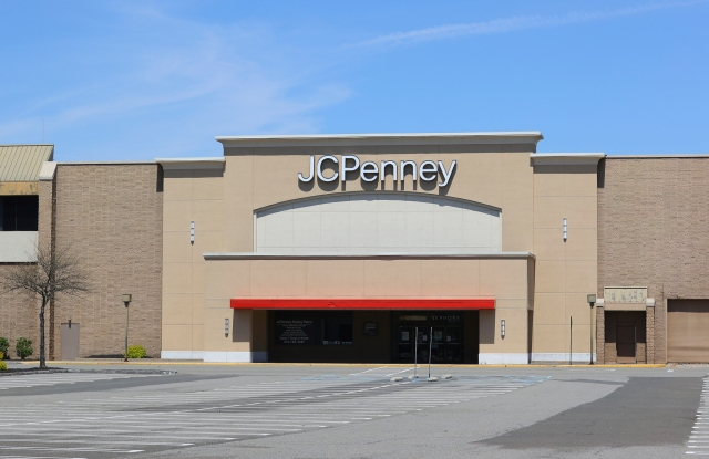 JC Penney store at the Willowbrook Mall in Wayne, NJ.