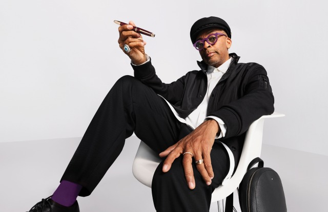 Spike Lee in Montblanc global campaign