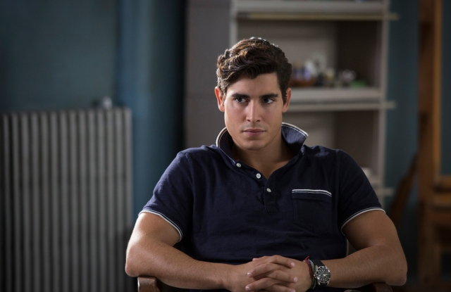 Henry Zaga as Roberto da Costa in 20th Century Studios' THE NEW MUTANTS. Photo by Claire Folger. © 2020 Twentieth Century Fox Film Corporation. All Rights Reserved.