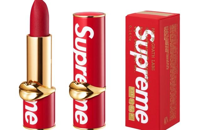 Supreme Pat McGrath lipstick collaboration