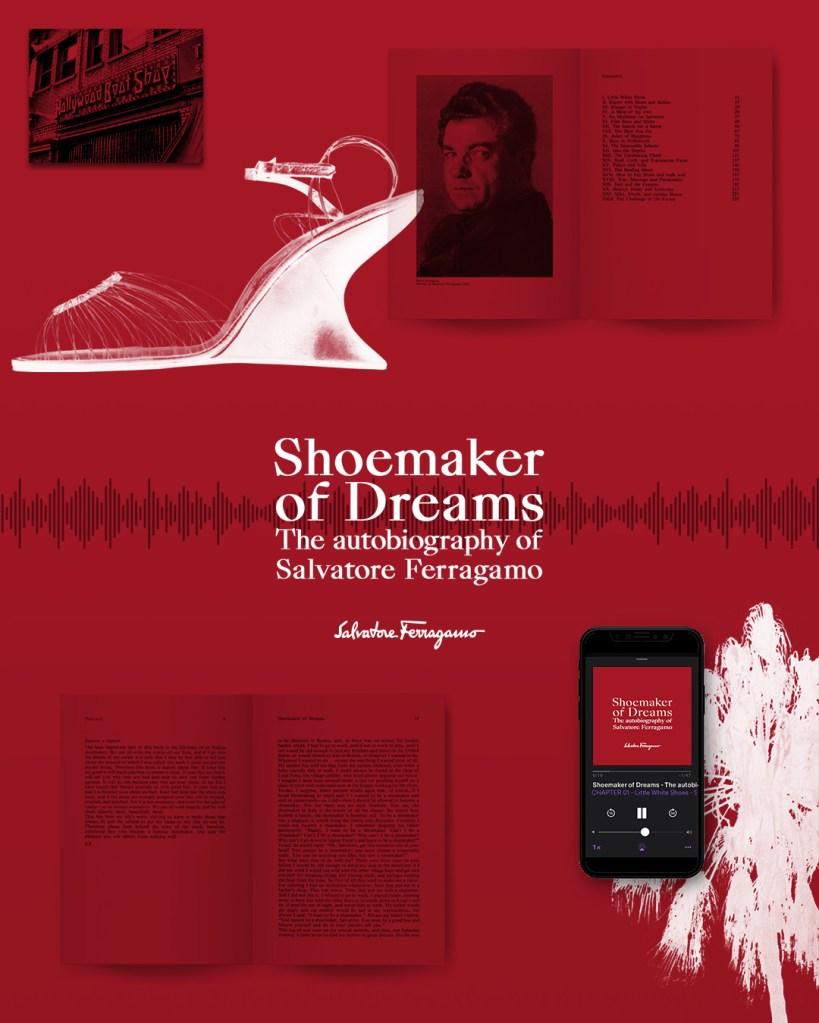 Salvatore Ferragamo's podcast series on the founder's life.