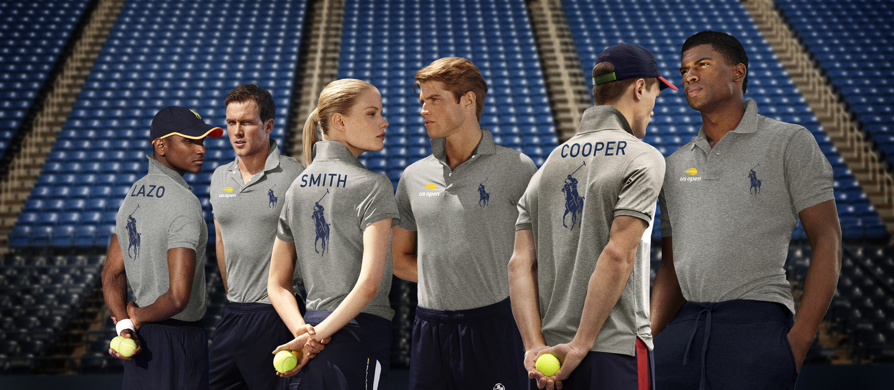 Polo Ralph Lauren ballpeople shirts for U.S. Open