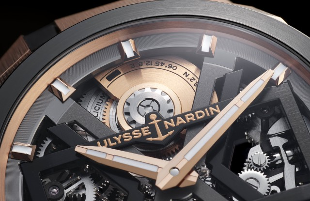 Ulysse Nardin Blast watch