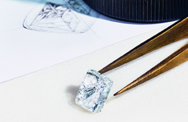 A Tiffany diamond