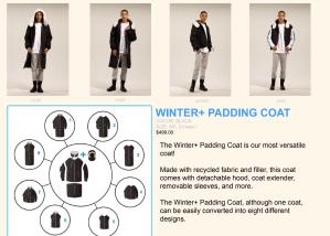 EDIT+, modular design, convertibility, athleisure, fashion, brand