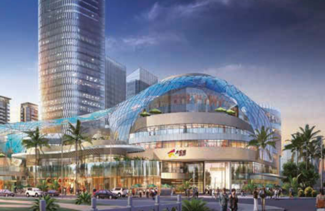 Mall developer Joy City is one of China's leading brands, according to the ranking.