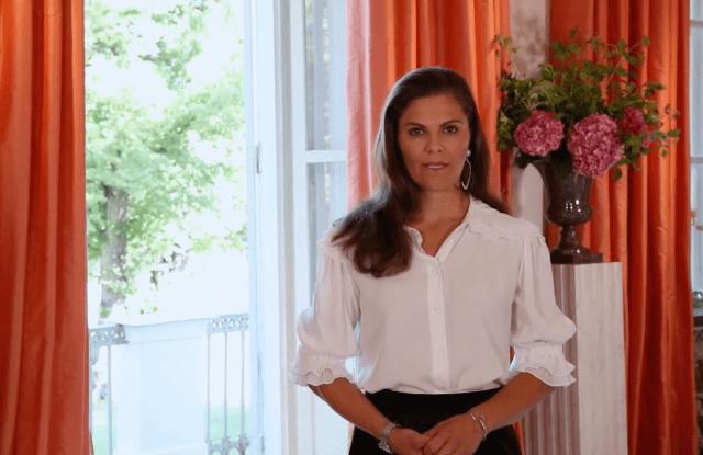 Princess Victoria opening Stockholm Fashion Week