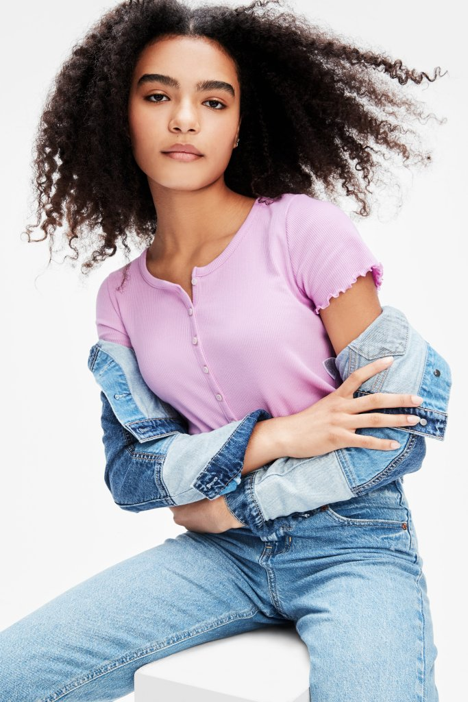 gap, sustainable, apparel, denim teens, gen z