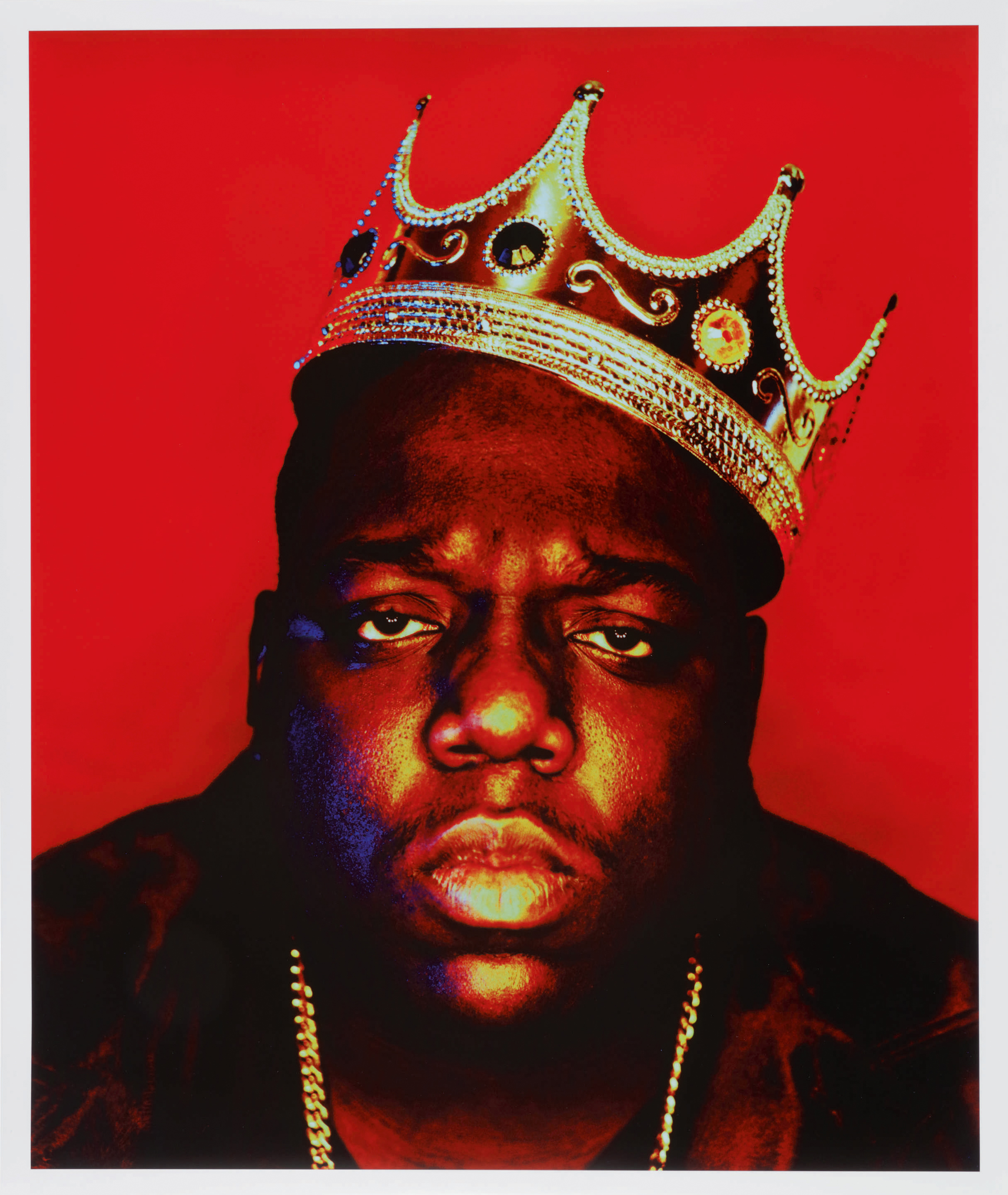 Notorious B.I.G. by Barren Claiborne for Rap Pages magazine in 1997