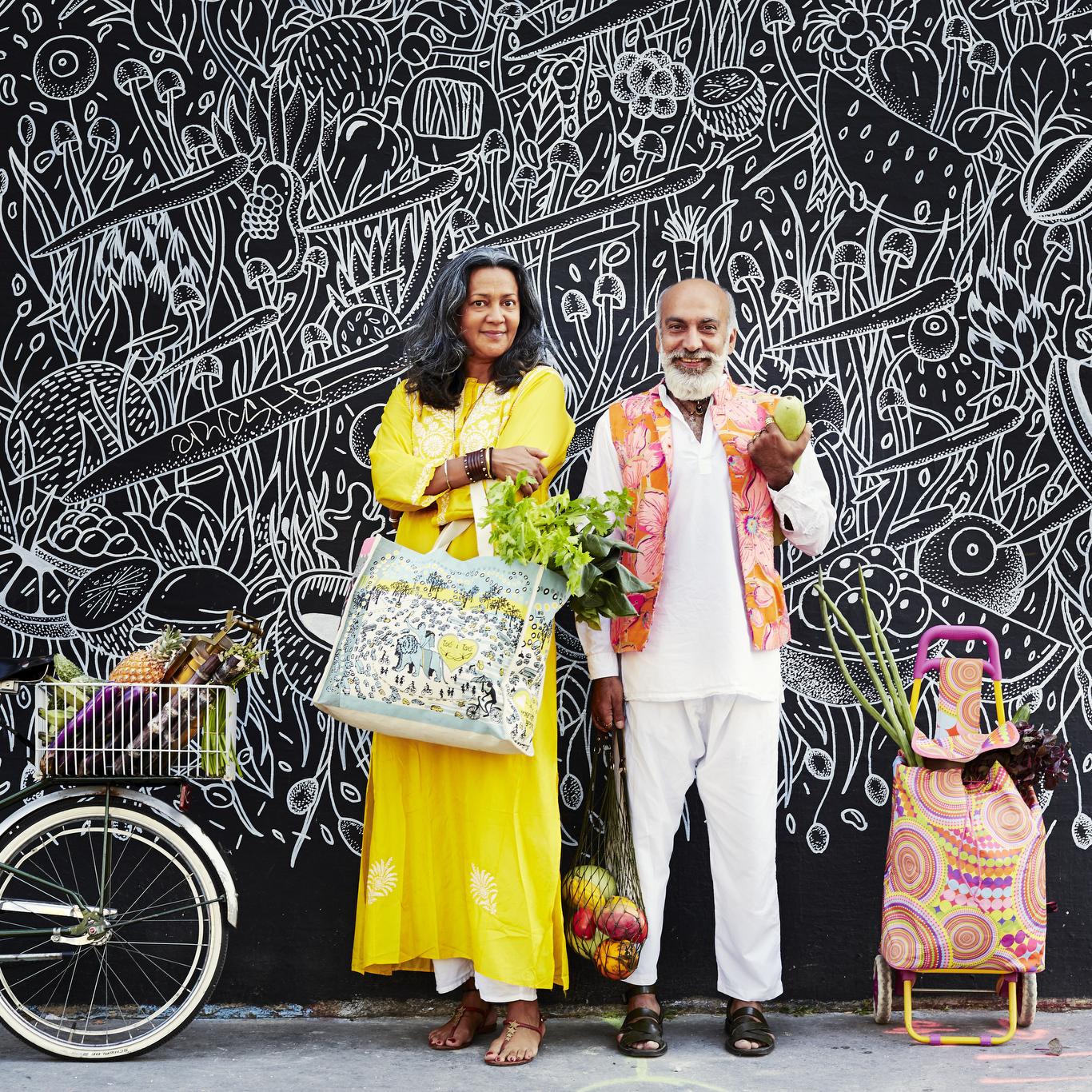 Marielou Phillips and Manish Arora