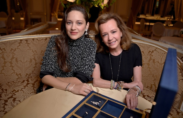 Chopard Ice Cube jewelry launch at the Ritz