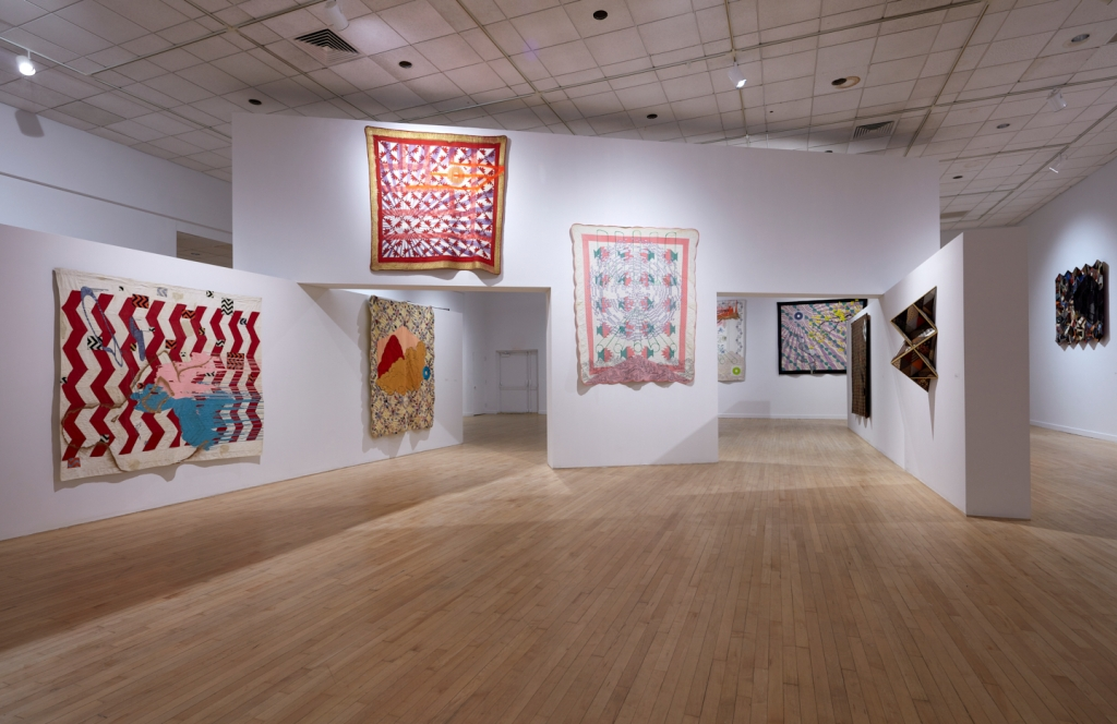 "Installation view of ""Codeswitch"" at the Bronx Museum."