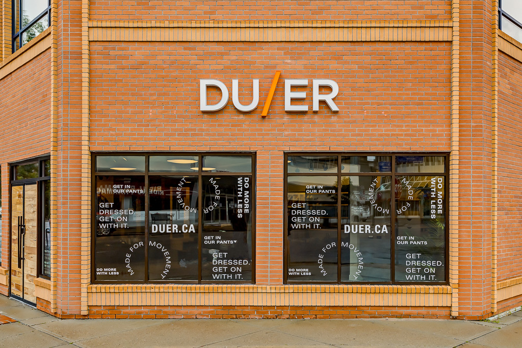 The Duer Vancouver store