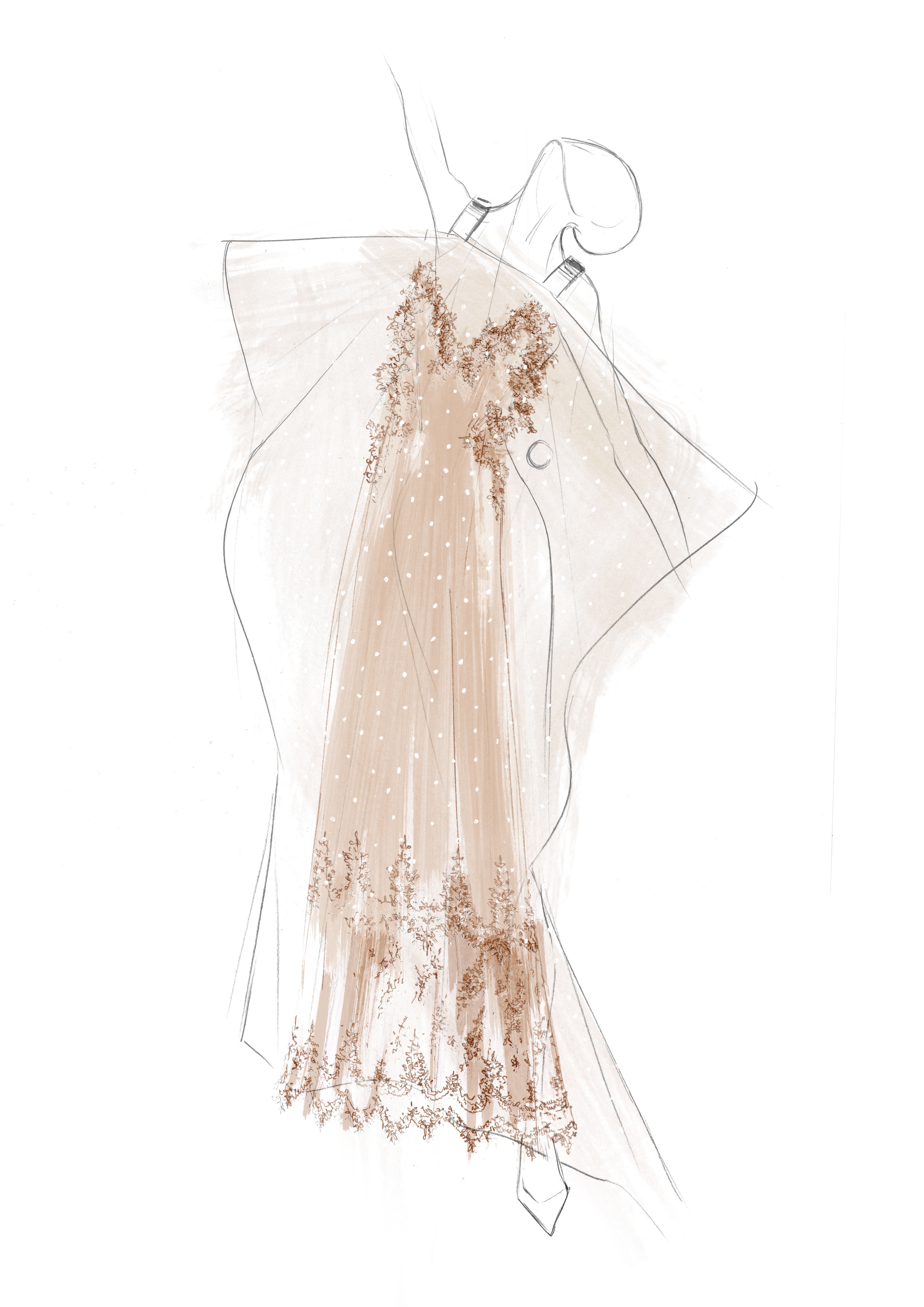 """One of Riccardo Tisci's designs for """"7 Deaths of Maria Callas."""""""