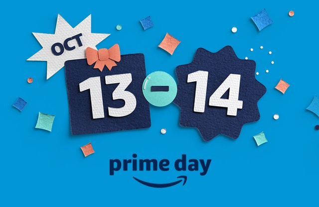 Amazon sets Prime Day for Oct. 13 and 14.